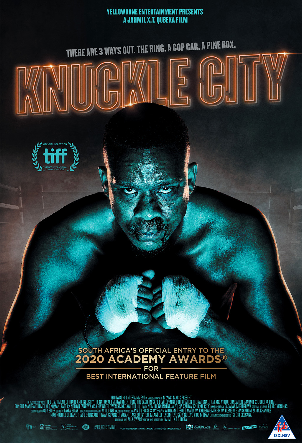 Knuckle City - Movie Poster - Academy Awards