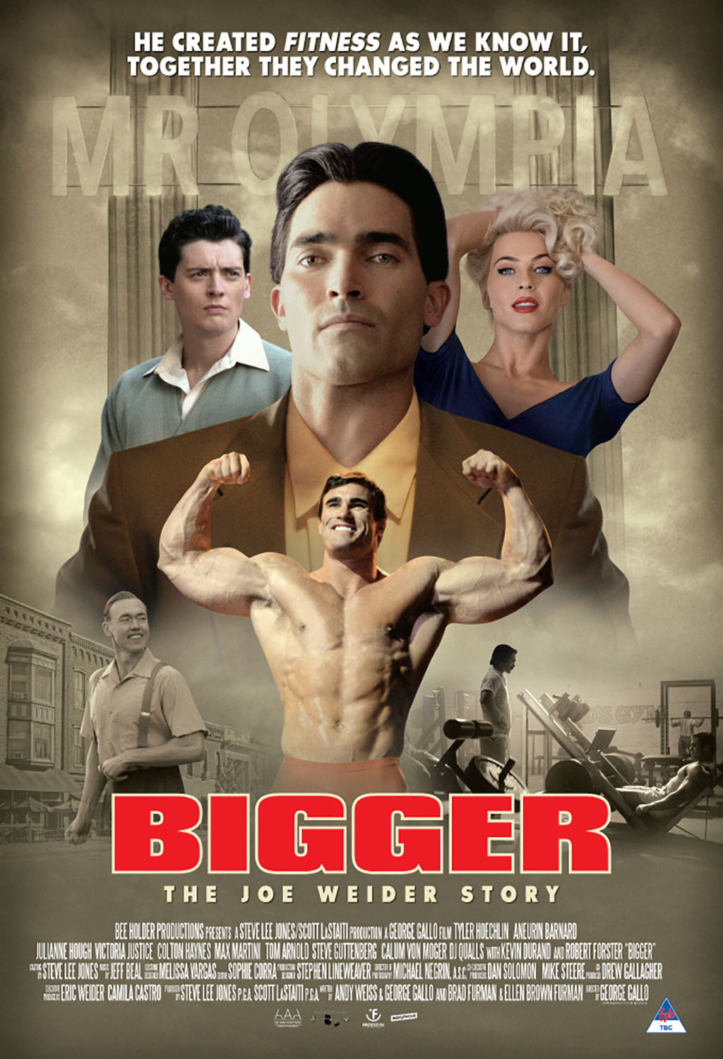 Bigger - Movie Poster