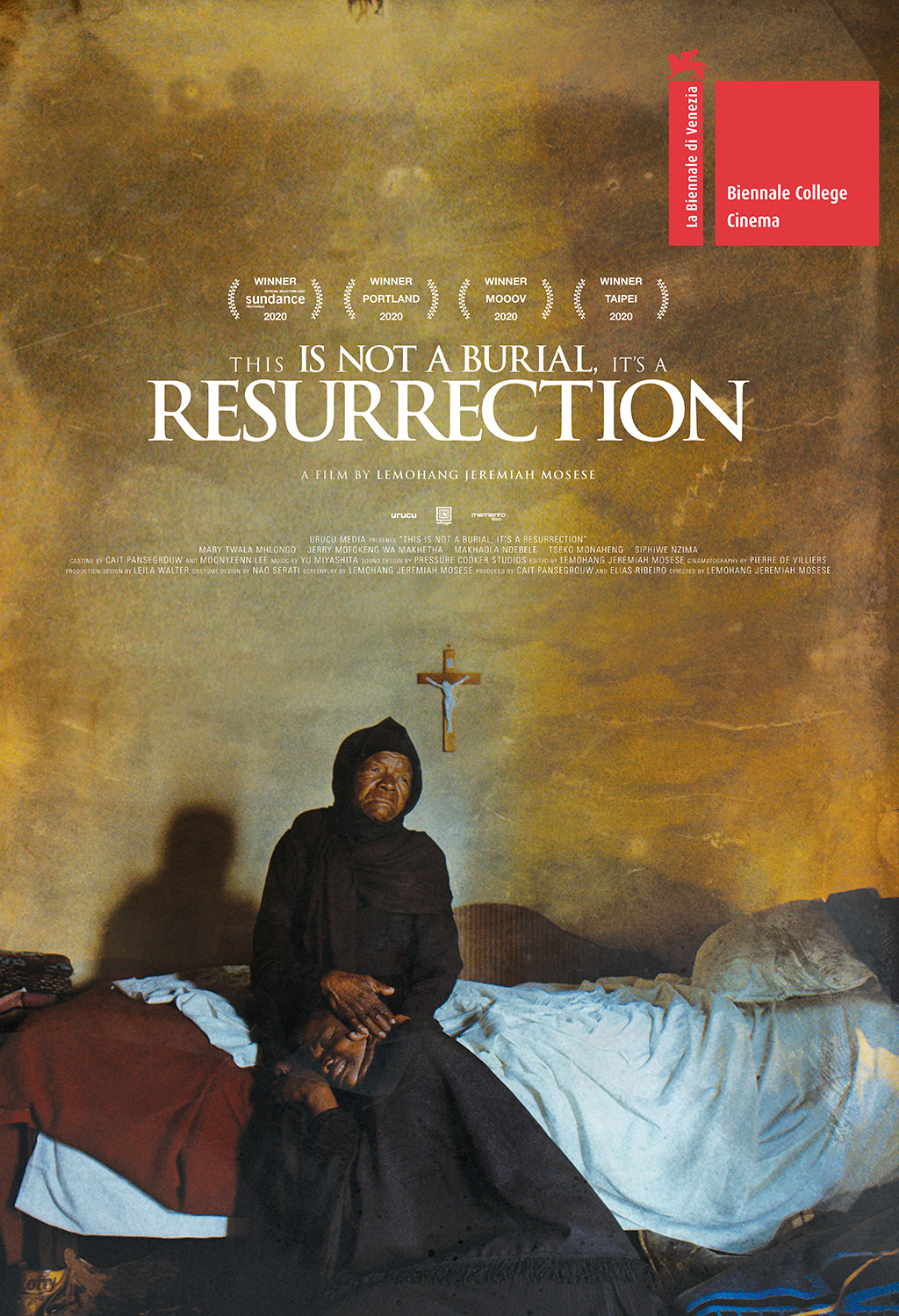 This is not a Burial, it's a Resurrection - Movie Poster
