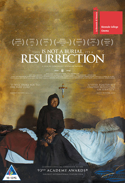 This is not a Burial Its a Resurrection Movie Poster
