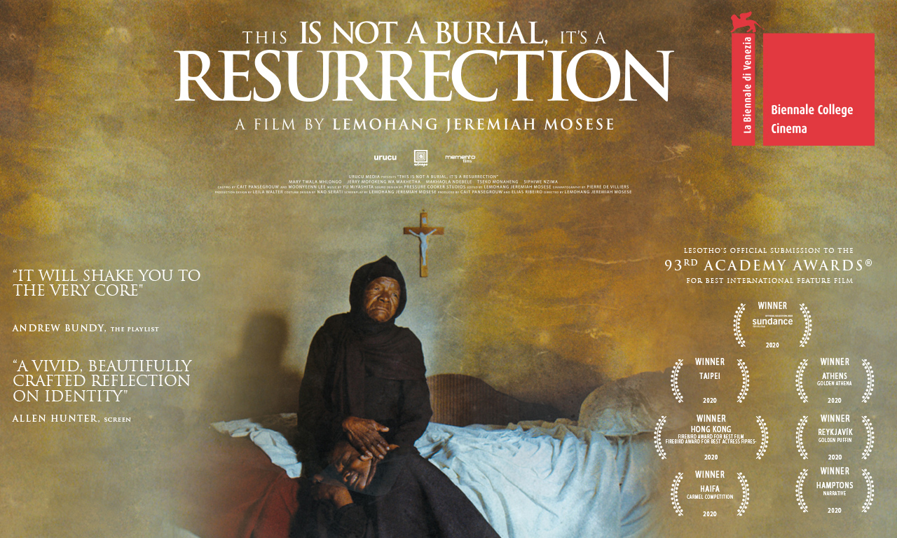 This is not a Burial, It's a Resurrection - Homepage