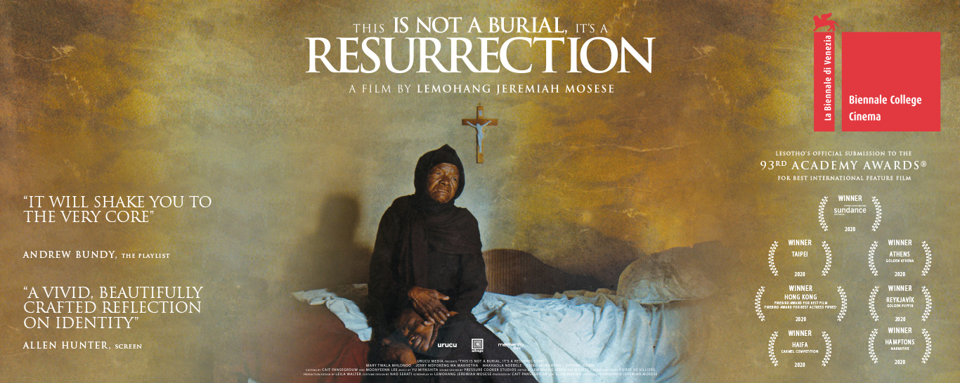 This is not a Burial, It's a Resurrection - Slider